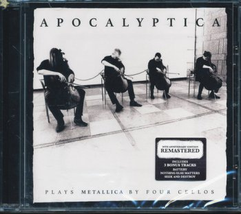 Apocalyptica - Plays Metallica by Four Cellos (1996) [Remastered 2016]