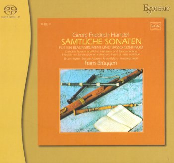 Frans Bruggen - Handel: The Wind Instruments Sonatas (1974/2011) [SACD + HDtracks]
