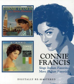 Connie Francis - Sings Italian Favorites & More Italian Favorites (2006) [Remastered]