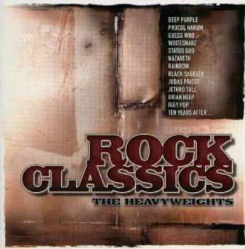 VA - Rock Classics - The Heavyweights [2CD Box Set] (1999)