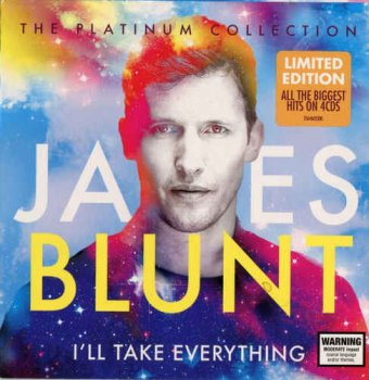 James Blunt - I'll Take Everything: Platinum Collection [4CD Limited Edition Box Set] (2015)