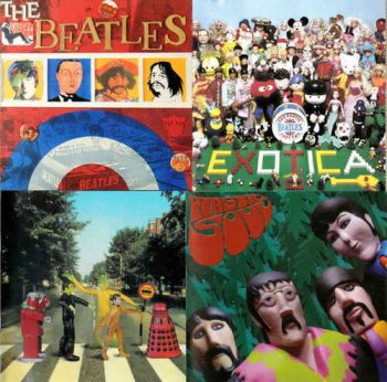 VA - The Exotic Beatles: Volume 1-4 (1993-2011)
