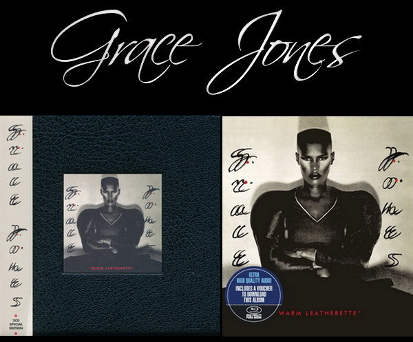 Grace Jones: 1980 Warm Leatherette 2CD Deluxe + Blu-ray Audio 2016