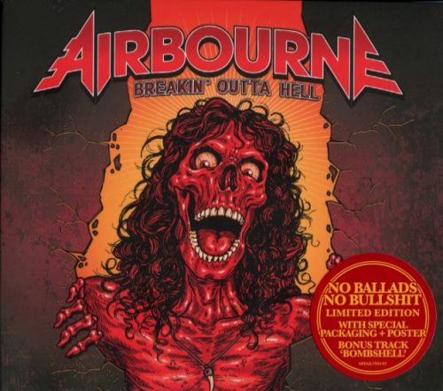 Airbourne - Breakin' Outta Hell [Limited Edition] (2016)