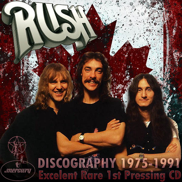 RUSH - Discography (18 x CD • 1st Press • Issue 1983-1991)