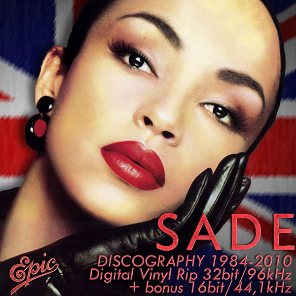 SADE - Discography on vinyl (6 x LP • Epic Records • 1984-2010)