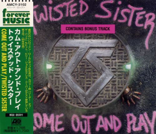 Twisted Sister - Come Out and Play [Japanese Edition] (1985) [1997]