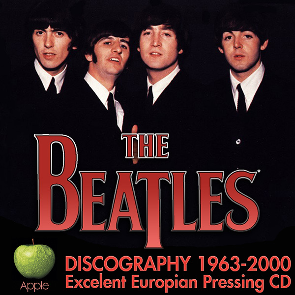THE BEATLES - Discography (28 x CD • EMI Records Ltd. • 1963-2000)