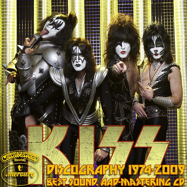 KISS - Discography (33 x CD • PolyGram Mercury Records • 1974-2009)
