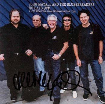 John Mayall & The Bluesbreakers - No Days Off (2003)
