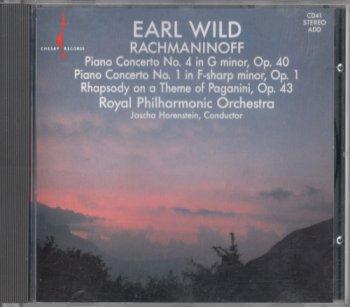 Royal Philharmonic Orchestra - Earl Wild - Rachmaninoff - Piano Concerti No. 4 & 1 (1990)