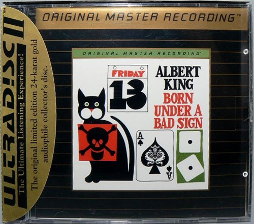 ALBERT KING «Born Under A Bad Sign» (1967) (US 1993 Mobile Fidelity Sound Lab • UDCD 577)