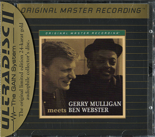 GERRY MULLIGAN «Meets BEN WEBSTER» (1959) (US 1995 Mobile Fidelity Sound Lab • UDCD 644)