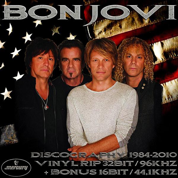 BON JOVI «Discography on vinyl» (11 x LP • PolyGram Records Ltd. • 1984-2010)