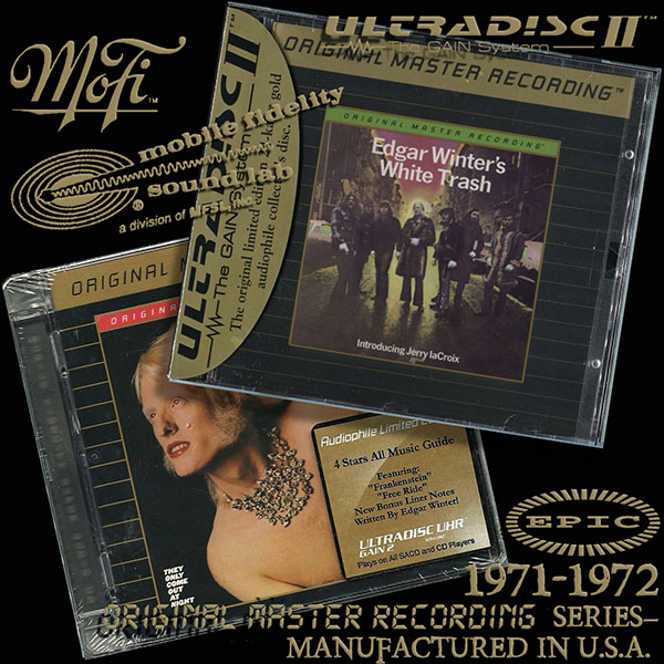 EDGAR WINTER - Original Master Recording Series– (2 x CD • MFSL • 1971-1972)