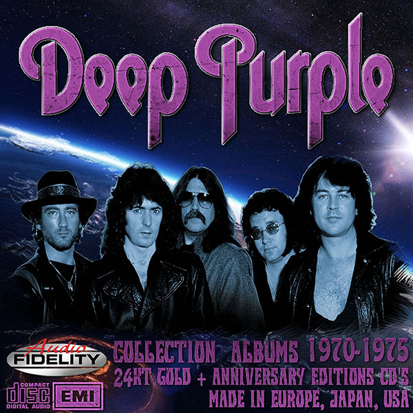 DEEP PURPLE «24KT Gold + Anniversary Edition» (19 x CD • Issue 1995-2012)
