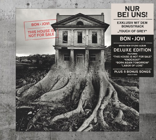Bon Jovi - This House Is Not For Sale [Exklusive Ltd. Deluxe Edition + Bonustrack] (2016)
