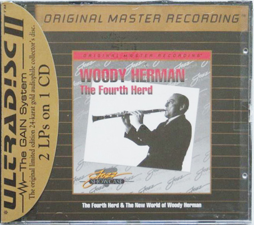 WOODY HERMAN «The Fourth Herd & The New World of...»  (1959,62) (US 1995 MFSL • UDCD 630)
