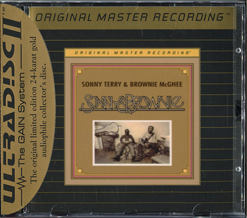 SONNY TERRY & BROWNIE McGHEE - Sonny & Brownie (1973) (US 1995 Mobile Fidelity Sound Lab • UDCD 641)