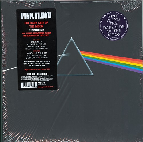 Pink Floyd - The Dark Side of the Moon [Mastered from the Original Master Tapes, US, LP (VinylRip 32/192)] (2016)