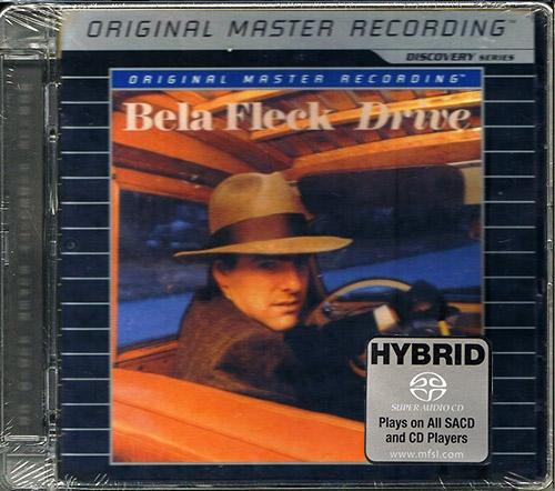 BELLA FLECK - Drive (1988) (US 2005 Mobile Fidelity Sound Lab • UDSACD 7003)