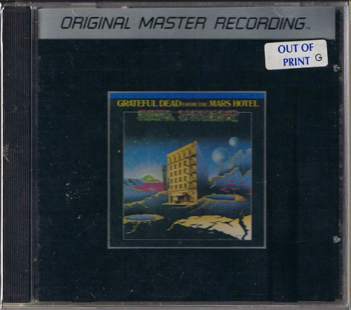GRATEFUL DEAD - From The Mars Hotel (1974) (JP 1985 Mobile Fidelity Sound Lab • MFCD 830)