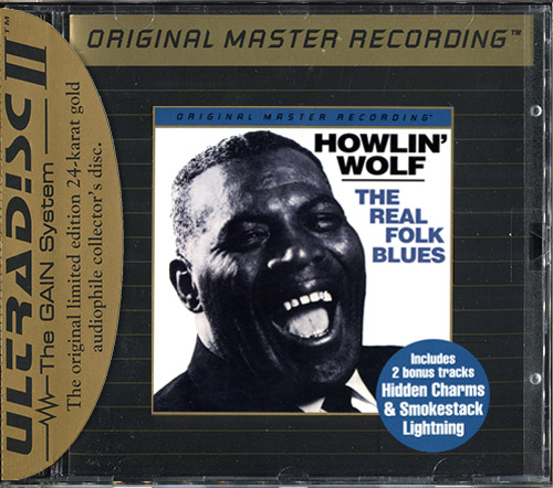 HOWLIN' WOLF «The Real Folk Blues» (1966) (US 1995 Mobile Fidelity Sound Lab • UDCD 645)