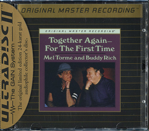 MEL TORME & BUDDY RICH - Together Again - For The First Time (1978) (US 1993 MFSL • UDCD 592)