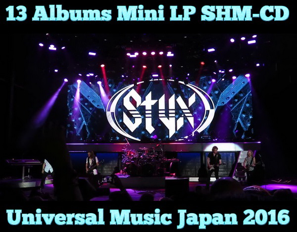 Styx: 13 Albums Mini LP SHM-CD - Universal Music Japan 2016
