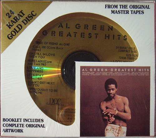 AL GREEN «Greatest Hits» (1975) (US 1998 DCC Compact Classics, Inc. • GZS-1125)