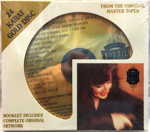 BONNIE RAITT «Luck of the Draw» (1991) (US 1997 DCC Compact Classics, Inc. • GZS-1107)