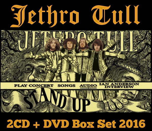 Jethro Tull: 1969 Stand Up / 2CD + DVD Box Set Chrysalis Records 2016