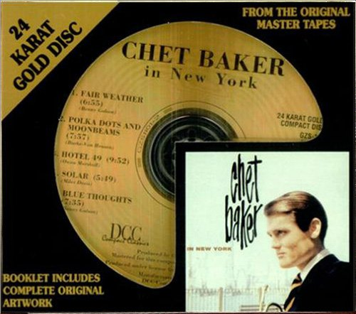 CHET BAKER - In New York (1958) (US 1996 DCC Compact Classics, Inc. • GZS-1101)