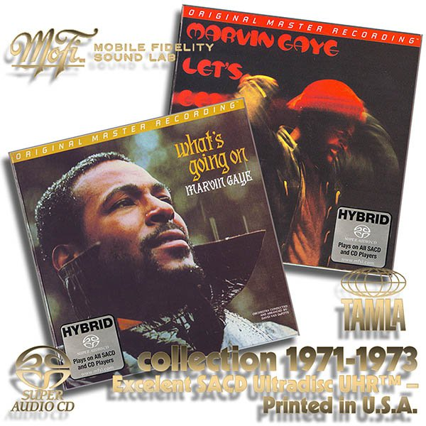 MARVIN GAYE - Original Master Recording Series – (2 x CD • Mobile Fidelity Sound Lab • 1971,1973)