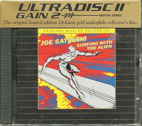 JOE SATRIANI «Surfing With The Alien» (1987) (US 1999 Mobile Fidelity Sound Lab • UDCD 751)