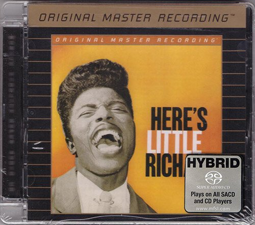 LITTLE RICHARD «Here's Little Richard & Little Richard» (1957-58) (US 2006 MFSL • UDSACD 2028)