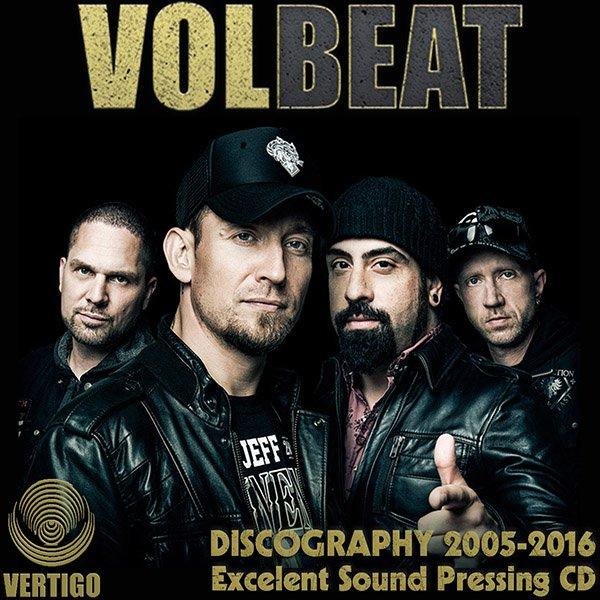 VOLBEAT - Discography (8 x CD • Vertigo • 2005-2016)
