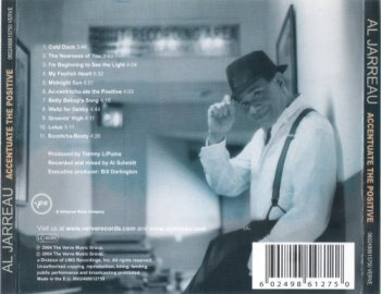 Аl Jаrrеаu – Ассеntuаtе Тhе Роsitivе (2004)