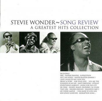 Stevie Wonder - Song Review: A Greatest Hits Collection [2CD] (1996)