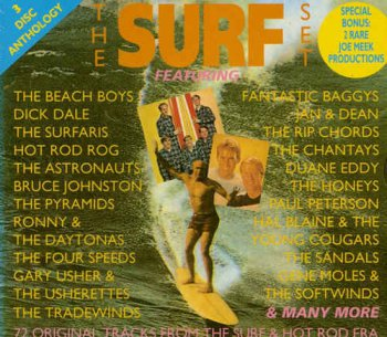 VA - The Surf Set - 72 Original Tracks from the Surf & Hot Rod Era (1993)