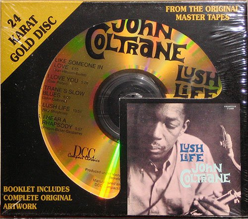 JOHN COLTRANE «Golden Collection» (8 x 24Kt Gold CD • MFSL/DCC • 1957-1963)