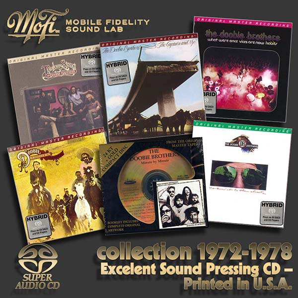 THE DOOBIE BROTHERS «Original Master Recording Series» – (5 x SACD + bonus • MFSL • 1972-1978)