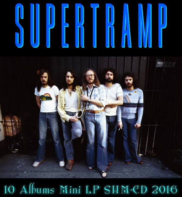 Supertramp: 10 Mini LP SHM-CD Albums / Universal Music Japan 2016