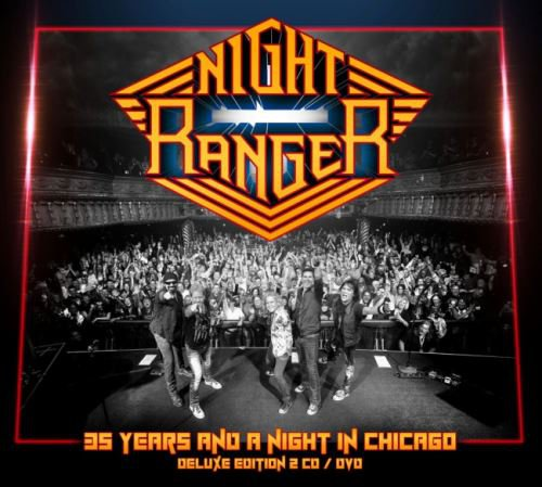 Night Ranger - 35 Years and A Night In Chicago [2CD] (2016)