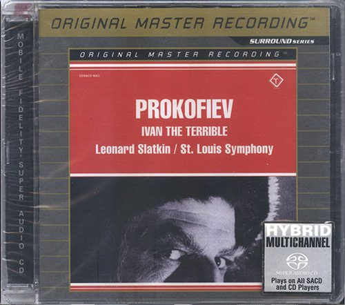 LEONARD SLATKIN - PROKOFIEV 'Ivan The Terrible' (1979) (US 2003 MFSL • UDSACD 4003)