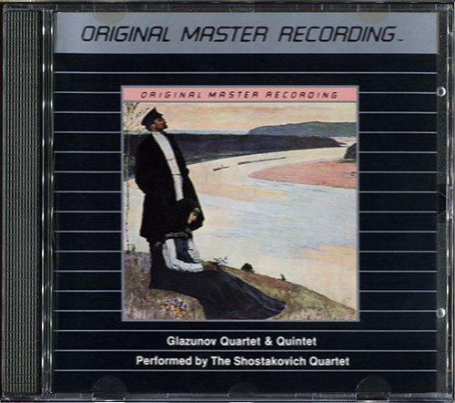 THE SHOSTAKOVICH QUARTET - Glazunov- Quartet & Quintet (US 1982 MFSL • MFCD 875)