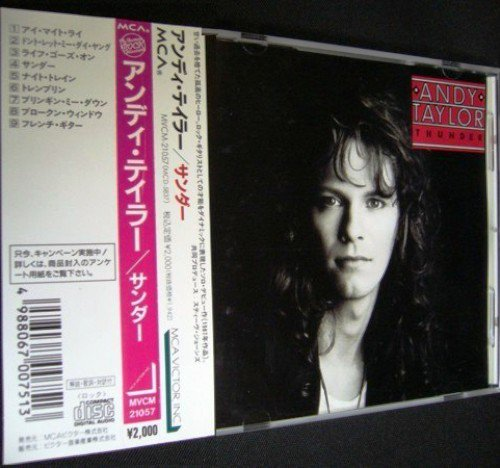 Andy Taylor - Thunder (1987) [Japan Press 1992]