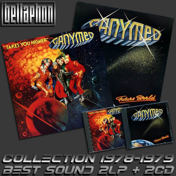 GANYMED «Collection» (2LP + 2CD • Bellaphone Records • 1978-1979)