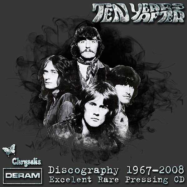 TEN YEARS AFTER «Discography 1967-2008» (17 x CD • Chrysalis Records • Issue 1989-2012)
