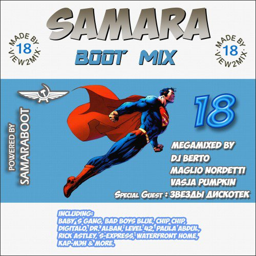 VA - Samara Boot Mix 18 (2 CD) (2016) (FLAC)